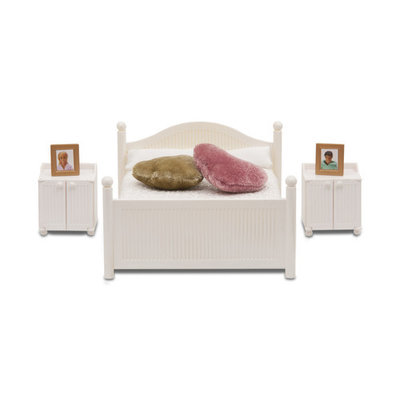 Lundby Smaland poppenhuis slaapkamer wit