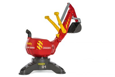 Rolly Toys Digger graafmachine (rood)