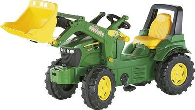 Rolly Toys 7930 FarmTrac John Deere - Traptractor met Frontlader