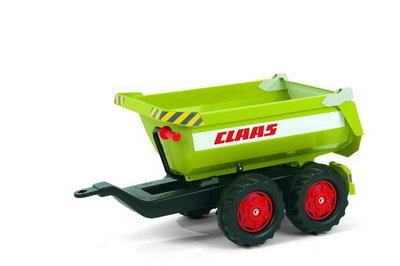 Rolly Toys Halfpipe Trailer Claas