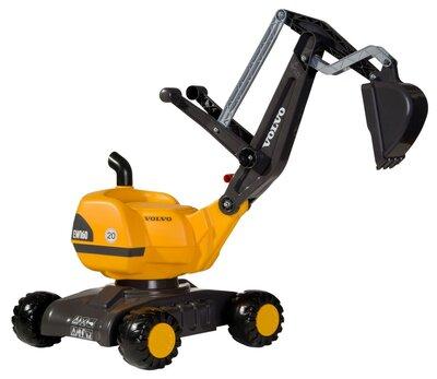Rolly Toys Digger graafmachine op wielen (Volvo)