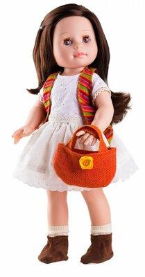 Paola Reina Pop Soy Tu Emily zomer met tas, 42cm