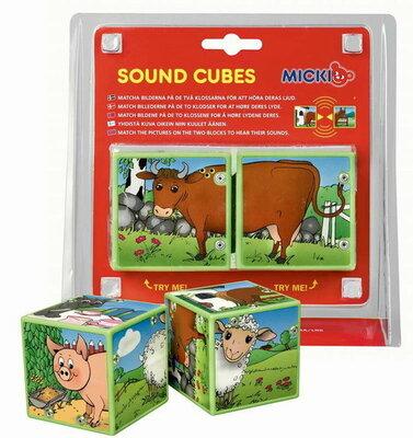 Micki geluidblokken dieren
