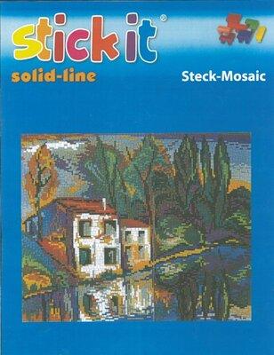 Ministeck Stick-it huis aan de rivier (8800-delig)