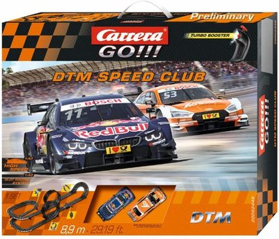 Carrera GO!!! DTM Speed Club - Racebaan