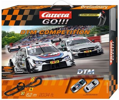 Carrera GO!!! DTM Competition - Racebaan