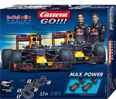 Carrera GO!!! Racebaan - Max Power