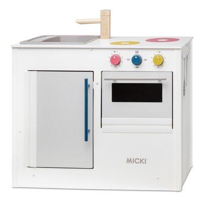 Micki Houten keuken pastel