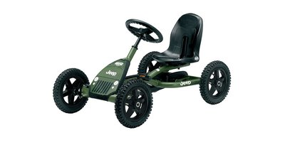 Skelter Jeep® Junior Pedal Go-kart
