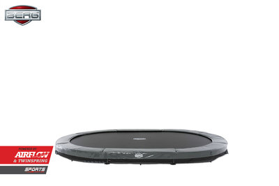 Trampoline BERG GRAND ELITE INGROUND Grey