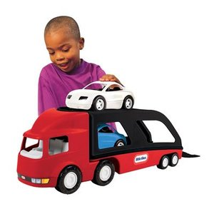 Little Tikes Grote Auto Transporter rood