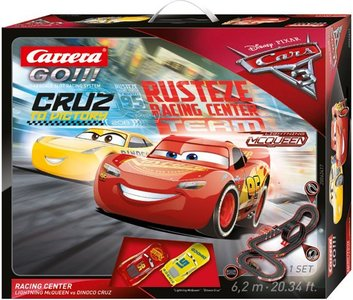 Carrera GO!!! Racebaan - Cars 3 Racing Center