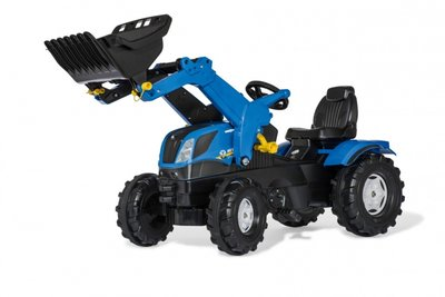 Rolly Toys Farmtrac New Holland met voorlader