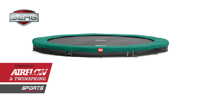 Trampoline BERG InGround Champion Green 380 (12,5ft)
